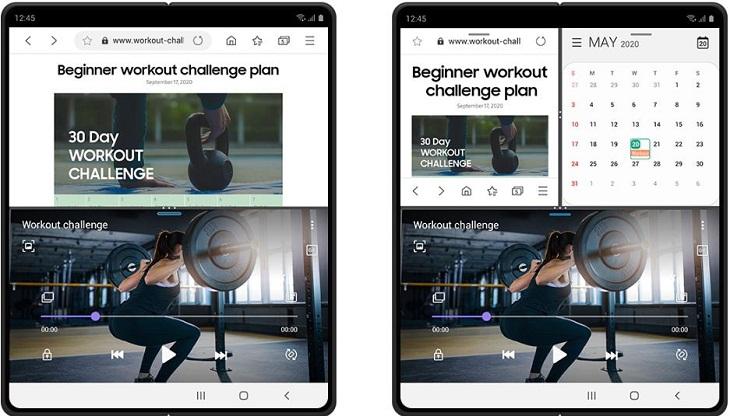 One UI 3.0 Nhiều thao tác trên một màn hình dễ dàng hơn