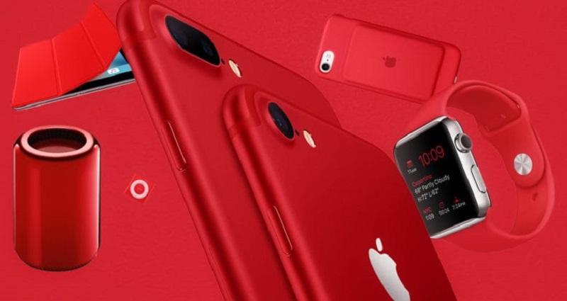 Apple dùng số tiền bán các sản phẩm PRODUCT (RED) để chống COVID-19