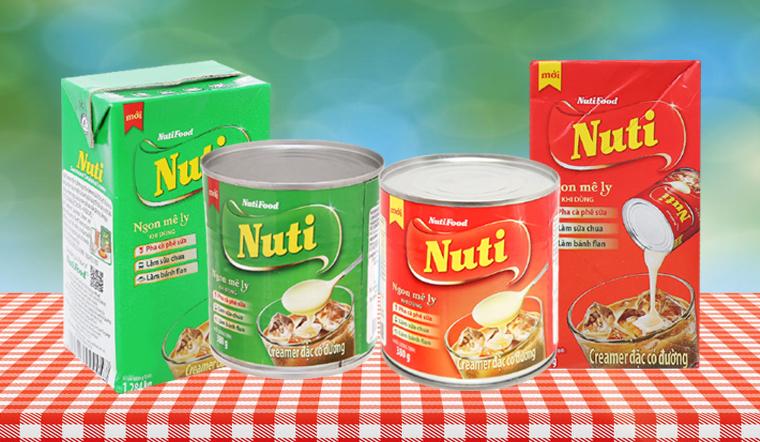 Kem đặc Nuti có những loại nào?