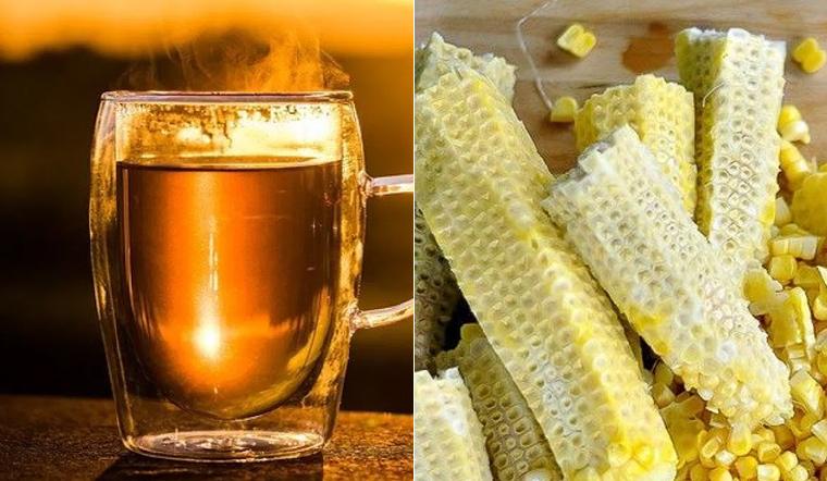 Lõi bắp Việt Nam vứt đi nhưng ở Hàn Quốc lại được tận dụng làm món thức uống bổ dưỡng này