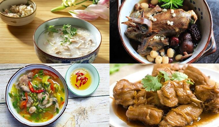 Các món ăn vừa ngon lại có công dụng làm sạch phổi, càng ăn càng bổ