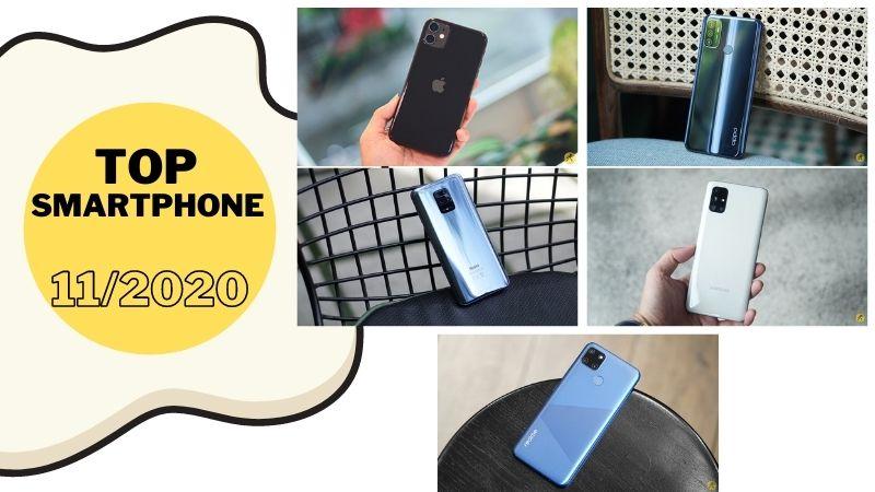 Top smartphone bán chạy nhất tháng 11/2020 tại Thế Giới Di Động, chỉ với hơn 3 triệu có ngay smartphone pin cực khủng (Phần 1)
