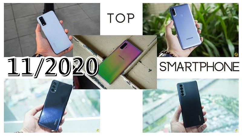 Top smartphone bán chạy nhất tháng 11/2020 tại Thế Giới Di Động, smartphone giá rẻ và cao cấp đều có mặt (phần 2)