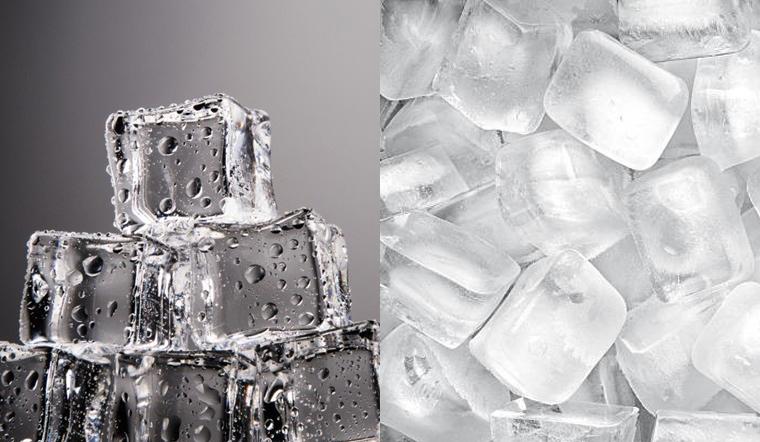 Vì sao nước đá có viên trong có viên đục?