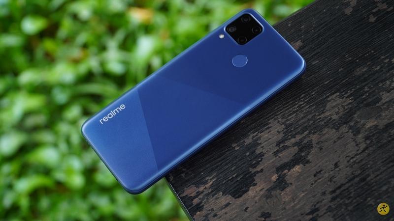 Một smartphone giá rẻ của Realme với pin 5.000 mAh, cụm 3 camera hình vuông mặt sau vừa đạt chứng nhận tại FCC
