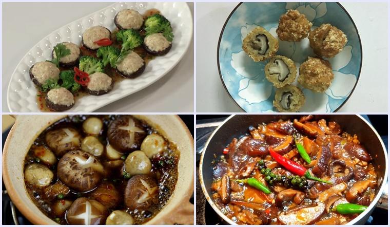10 món ăn ngon chế biến cùng nấm đông cô