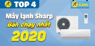 Top 4 máy lạnh Sharp bán chạy nhất năm 2020 tại Điện máy XANH