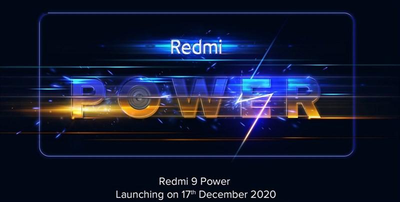 Redmi 9 Power sẽ chính thức được công bố vào ngày 17/12