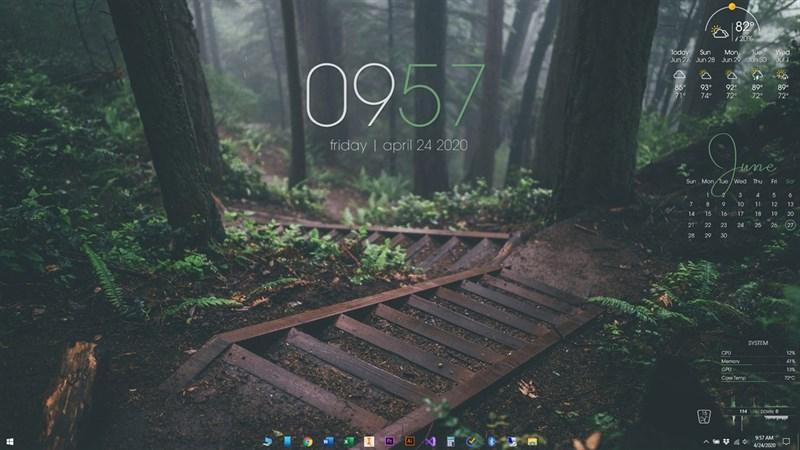 Thay đổi giao diện cho Windows 10