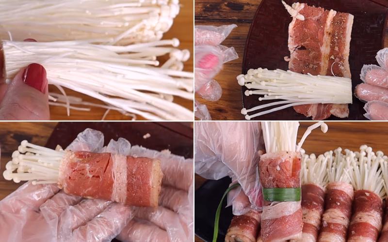 Cuộn thịt bò