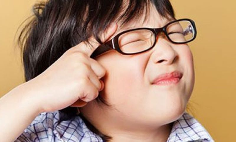 Trẻ bị cận thị