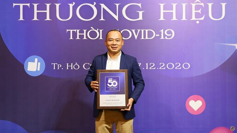 Thế Giới Di Động nhận giải thưởng Top 50 Thương hiệu dẫn đầu năm 2020