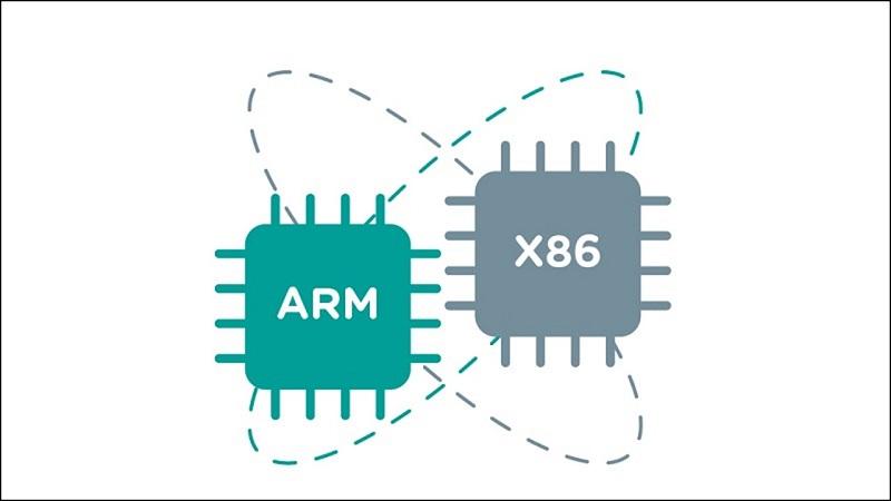 x86 sang ARM