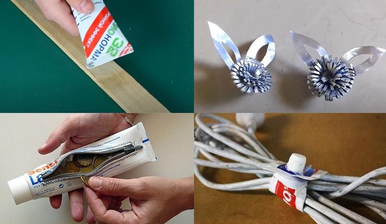 Vỏ kem đánh răng dùng hết khoan vứt, giữ lại sẽ có rất nhiều tác dụng