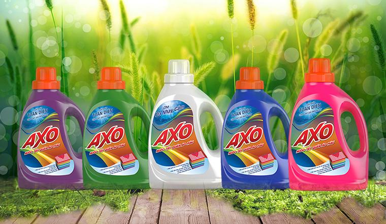 Nước tẩy quần áo màu AXO có bao nhiêu loại?
