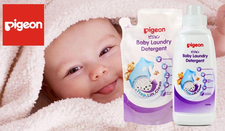 Nước giặt cho bé Pigeon có tốt hay không?