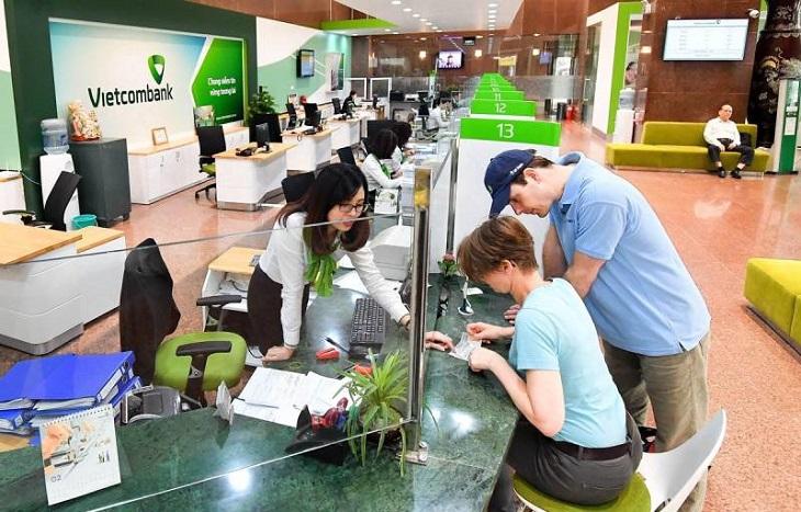 Lịch làm việc Vietcombank tại khu vực miền Bắc năm 2020