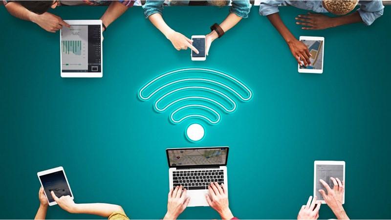 Xem số người kết nối Wifi