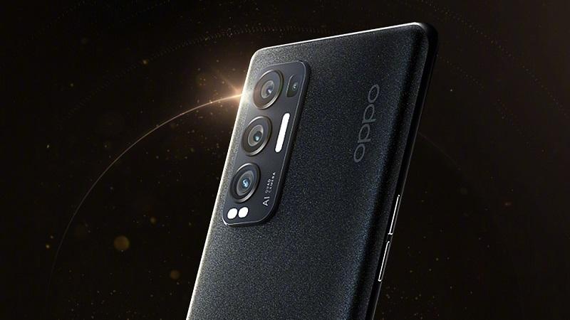 Mặt sau OPPO Reno5 Pro+