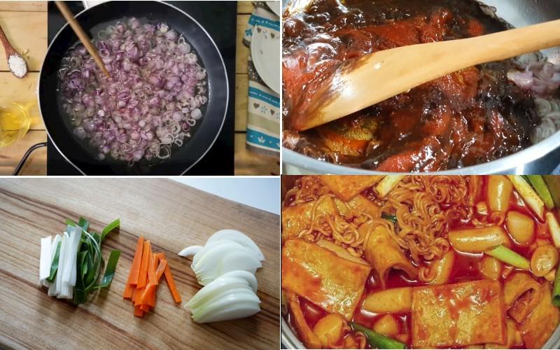 Cách nấu lẩu tokbokki chuẩn như của nhà hàng