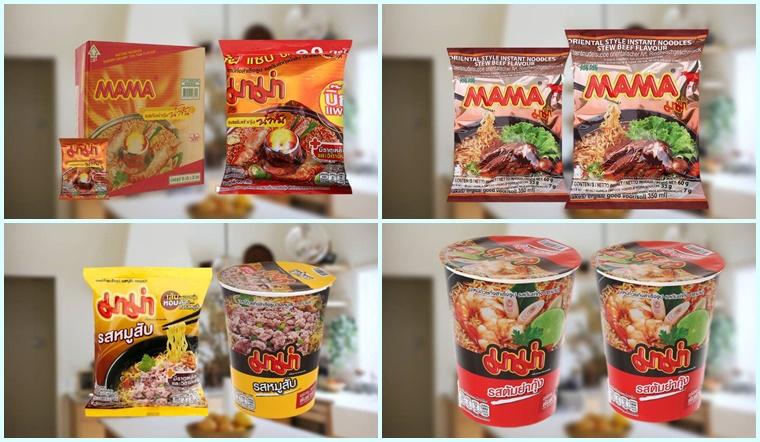 Review các hương vị mì Mama Thái Lan cực ngon không thể bỏ lỡ