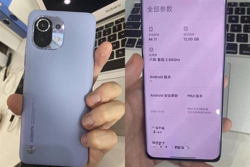 Xiaomi Mi 11 lộ ảnh trên tay ngoài đời thực, tiết lộ thiết kế và thông số cấu hình