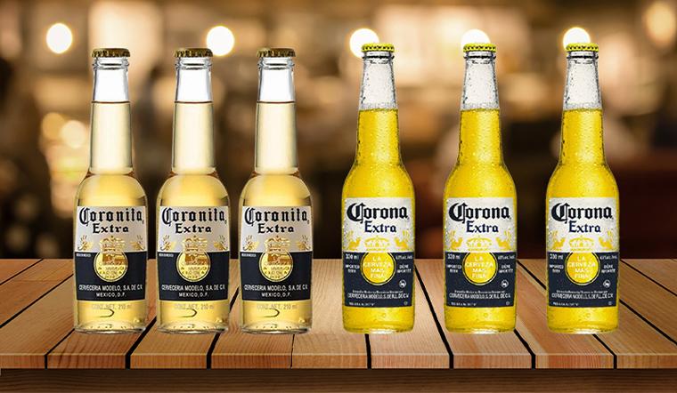 Bia Corona và Coronita có phải là một?