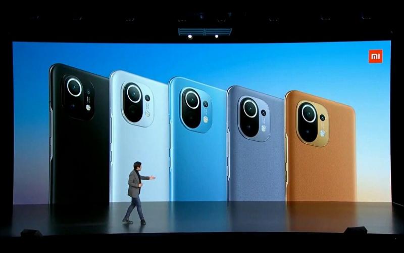 Các phiên bản màu sắc của Xiaomi Mi 11
