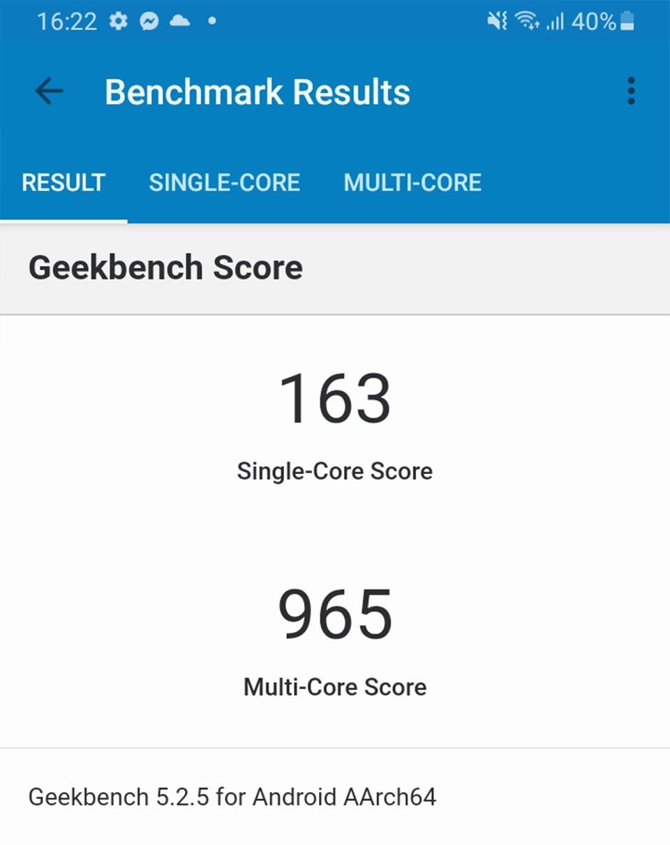 Test CPU qua phần mềm Geekbench 5