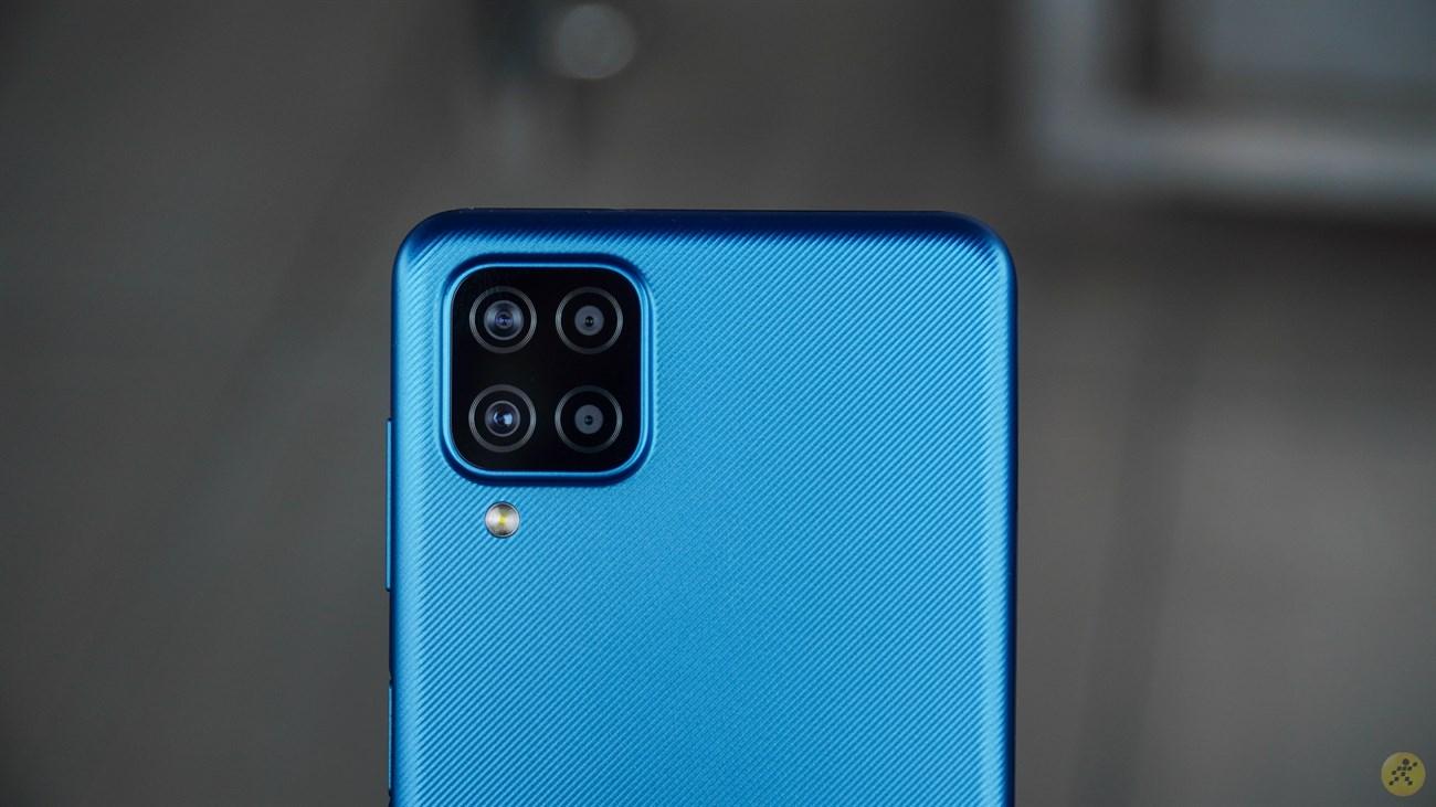 Thiết kế camera sau của Galaxy A12