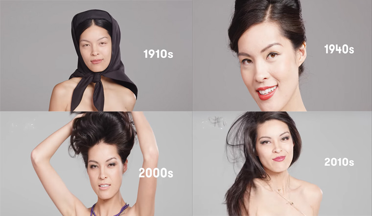 100 năm qua, phong cách trang điểm, thời trang của phụ nữ Việt Nam thay đổi 'chóng mặt' như thế nào?