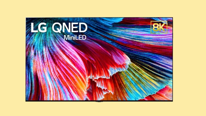 TV LG QNED 8K 86 inch