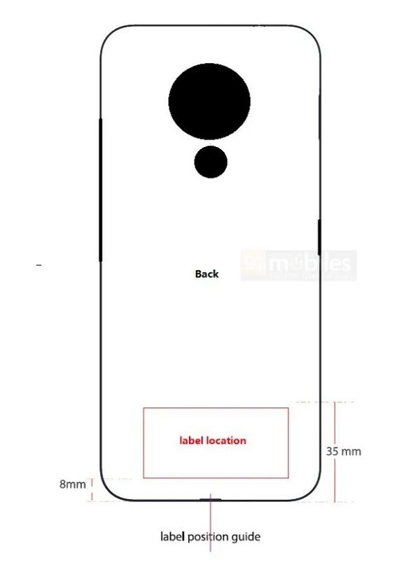 Thiết kế mặt sau của Nokia 7.3 5G