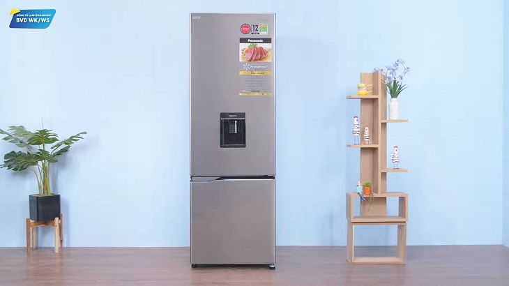 Mẫu tủ lạnh Panasonic dòng BV đều được thiết kế ngăn đá dưới