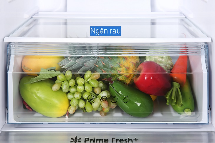 Ngăn Fresh Safe được thiết kế kín và dung tích lớn