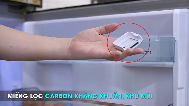 Tấm lọc carbon khử mùi hôi và lọc cặn bẩn