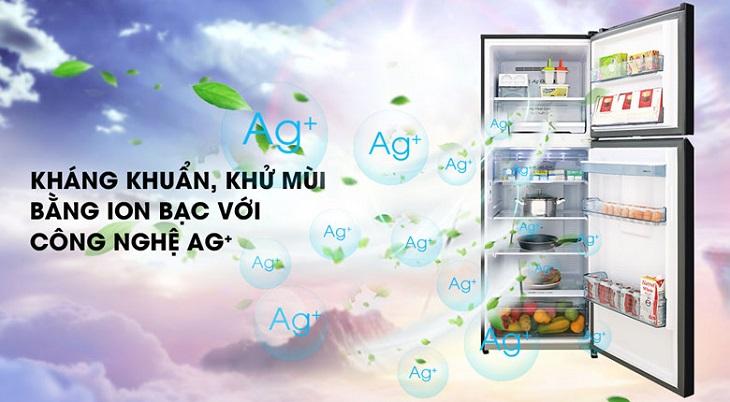 Công nghệ kháng khuẩn Ag Clean với tinh thể bạc Ag+