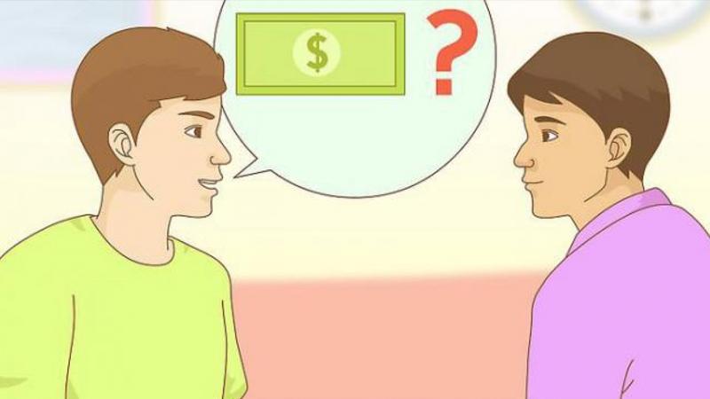 Nhắc khéo con nợ khi gặp trực tiếp