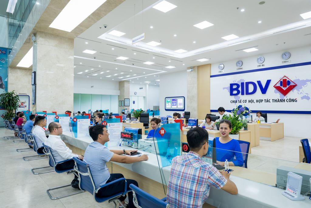 Giờ làm việc Phòng giao dịch BIDV