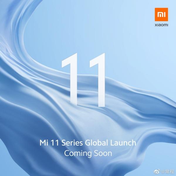 Xiaomi teaser sắp ra mắt Mi 11 phiên bản quốc tế