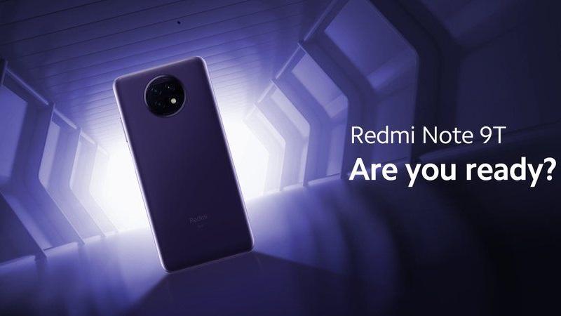 Bộ đôi Redmi Note 9T 5G và Redmi 9T ấn định ngày ra mắt chính thức