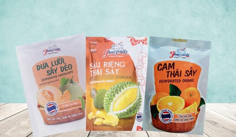 Trái cây sấy Thaifruitz có những loại nào?