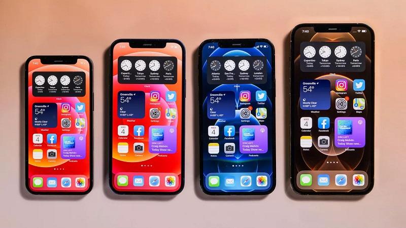 Bốn mẫu iPhone 12