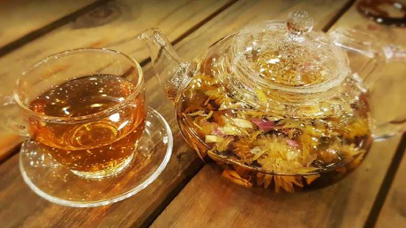 Chiều Rooftop Beer - Tea