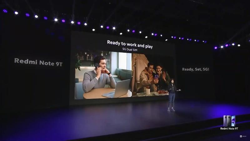 Redmi Note 9T 5G ra mắt: Pin 5.000mAh, dùng suốt 3 năm không xuống cấp đáng kể, chống nước, giá từ 6.5 triệu đồng