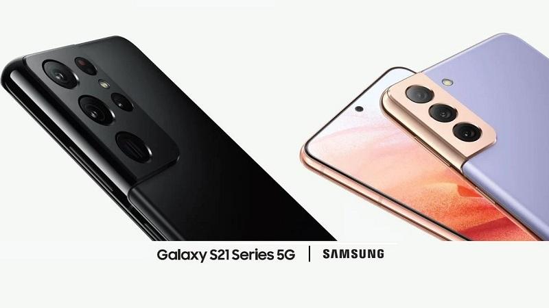 Hình ảnh quảng cáo Galaxy S21 series