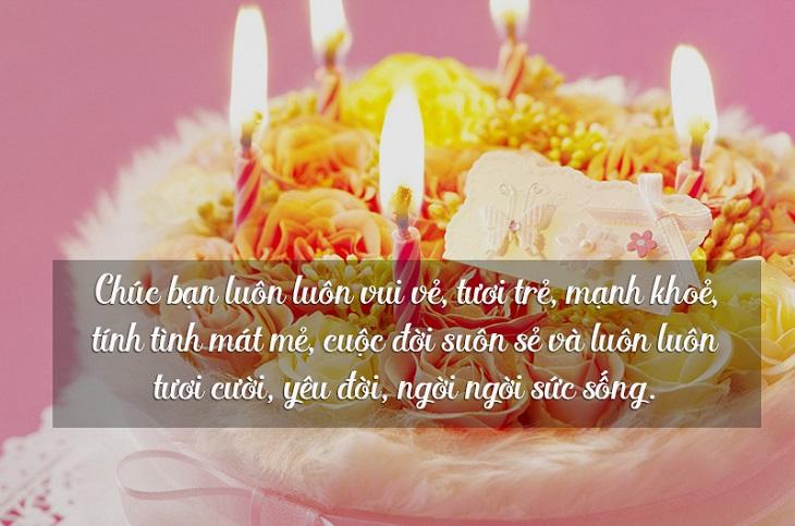 Lời chúc sinh nhật hay cho bạn thân