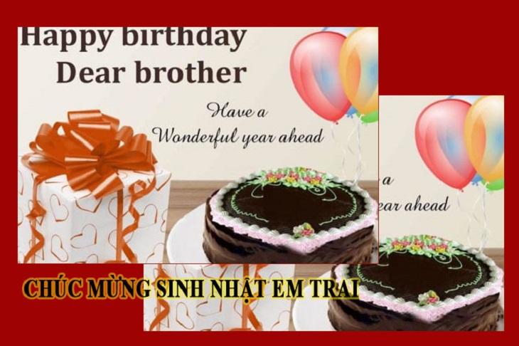 Lời chúc sinh nhật em trai