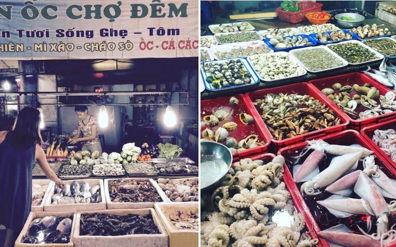 Chợ đêm hải sản