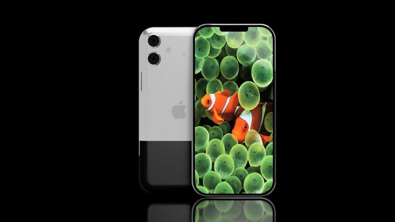 Chiêm ngưỡng mẫu thiết kế iPhone 13 Anniversary Edition với viền cạnh siêu mỏng, notch nhỏ gọn cùng mặt sau 2 tông màu độc đáo